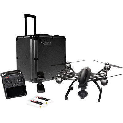 Yuneec Typhoon Q500 4K Quadcopter Drone UHD w/Alum Trolley Case/2nd Battery