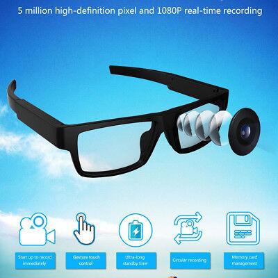 mini spy camcorders glasses DV Video recorder no hole camera hidden 1080p