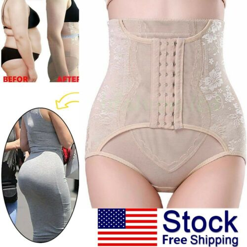 High Waist Tummy Control Girdle Panty Body Trainer Shaper Butt Lifter Clothing, Shoes & Accessories