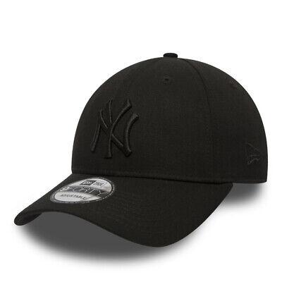 NEW ERA MLB 9Forty Cap New York Yankees Baseball Mütze Verstellbar Kappe BoBlack
