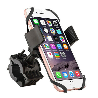 Bike Motorcycle MTB Bicycle Handlebar Mount Holder Universal For Cell Phone GPS