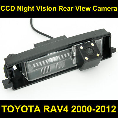 FOR TOYOTA RAV4 2000-2012 Car CCD Night Vision Backup Reverse Rear View Camera