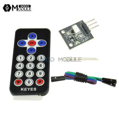 12pcs Vs1838b Tl1838 Ir Receiver Remote Control Vs1838 Hx1838 Kit For Arduino