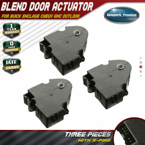 New HVAC Heater Air Inlet Blend Door Actuator For Buick Enclave Saturn Outlook
