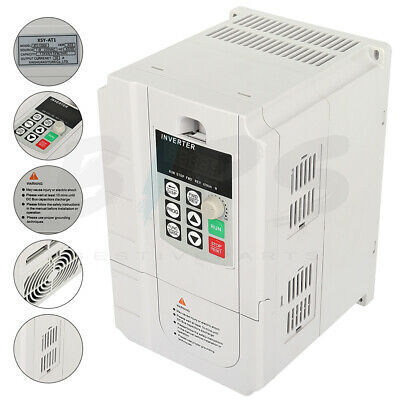 7hp 220v 5.5kw Variable Frequency Drive Single Phase To 3 Phase Speed Control
