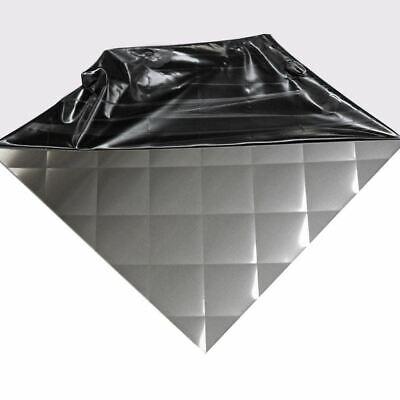 304 Quilted Brushed Stainless Steel Sheet 24 Ga. .024 X 12 X 12 Backsplash