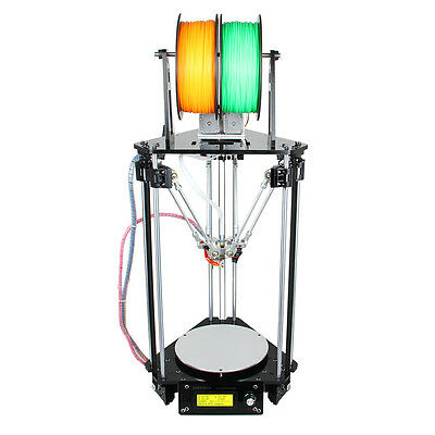 Geeetech Auto Level Kossel Delta Rostock Metal 3D Printer G2s dual nozzle UK