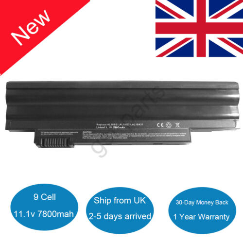 9 Cell Battery for Acer Aspire One 522 D255 D257 D260 D270 E100 AL10A31 AL10B31