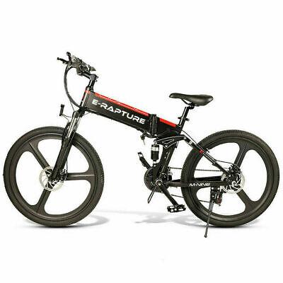 "26"" EBike Electric Bike Bicycle Folding Professional Commuter Mountain Battery"