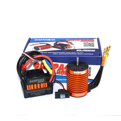 Set 4370KV F540 Brushless Motor & 45A ESC Great für 1/10 RC Auto LKW Car DEW