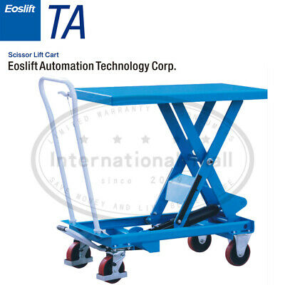 Eoslift Ta15 Ta30 Ta50 Ta70 Hydraulic Manual Scissor Lift Table Carts Usa
