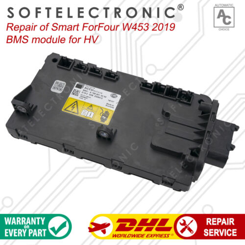 SMART ForFour w453 2019 BMS module for HVB Repair and Complete Remanufacturing