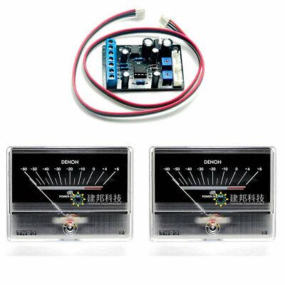 2pcs Tn-90a Vu Meter Db Level Header W 1pc Ta7318p Power Supply Driver Board