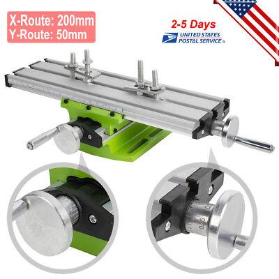 Aluminium Alloy Milling Machine Cross Sliding Table Vise For Lathe Bench Drill