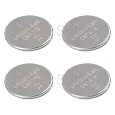 4 PACK NEW Battery Coin Cell Button Watch Calculator 3V CR1216 CR 1216 US Seller