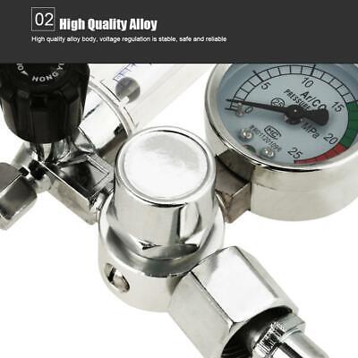 0-25mpa Argon Flow Meter Pressure Regulator Gauge For Weld Mig Tig Welding Usa