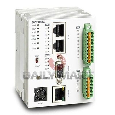 Delta New Dvp10mc11t Plc Ac6 Npn Transistor 10-point 8di4do