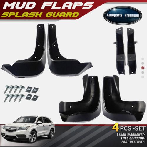 4x Splash Guards Mud Flaps Mudguards Molded Rear & Front
