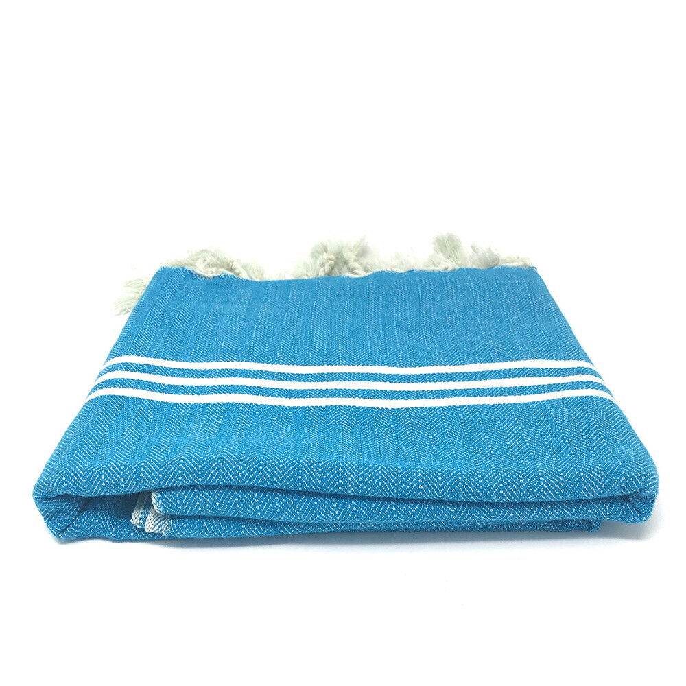 Organic Turkish Peshtemal Towel, Turkish Towels, Beach Towel