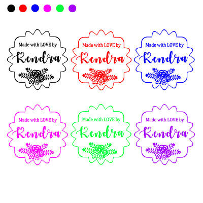 personalized custom made name rubber stamps unmounted wedding