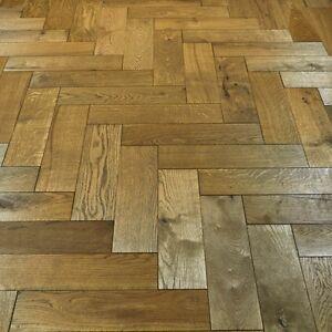 Golden Parquet Oak Solid Wood Flooring   Woca Oiled   20mm Thick   130mm  Wide