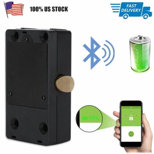 Electronic Bluetooth Smart Hidden Cabinet Lock Door Drawer D