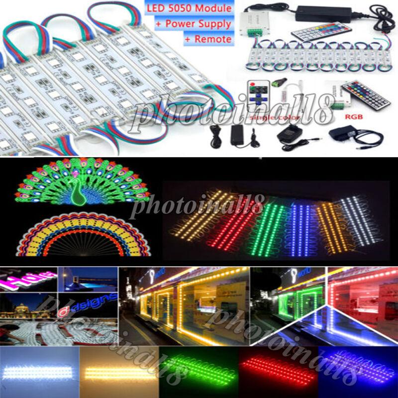 10ft-20ft 60-120 LED Closet Kitchen Under Cabinet Counter Light 5050 Module Lamp