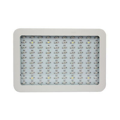 1000W LED Grow Light Full Spectrum Of Light Double Chips With 2 Fans Metal