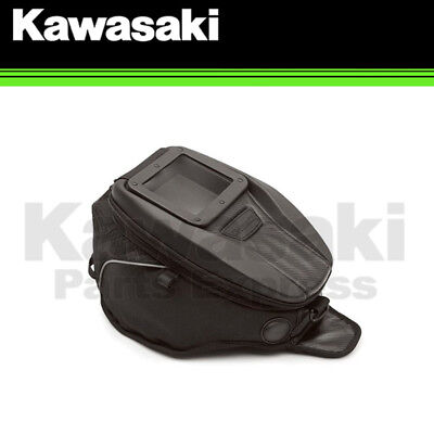 NEW 2008 - 2014 GENUINE KAWASAKI VERSYS 650 BLACK TANK BAG K57003-112