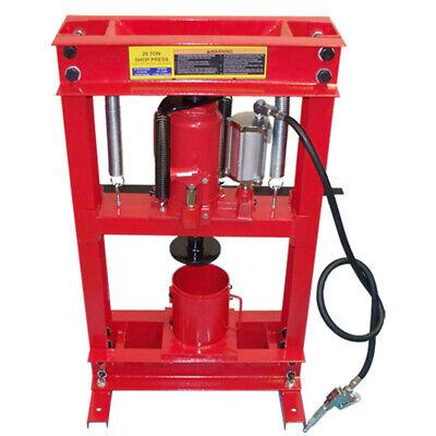 20 Ton Air Hydraulic Oil Filter Can Crusher Shop Press