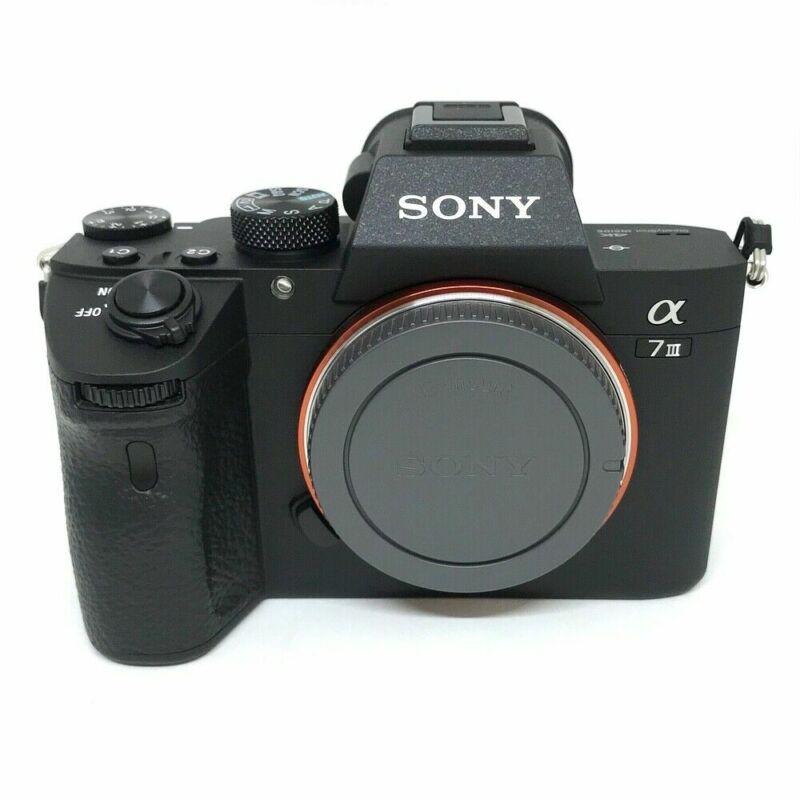Sony Alpha a7 III Mirrorless Digital Camera Body ILCE7M3/B