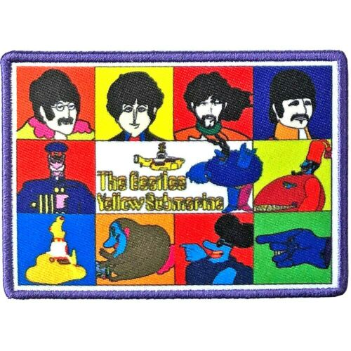 The Beatles - Yellow Submarine Characters Patch [UK Import] Memorabilia Souvenir