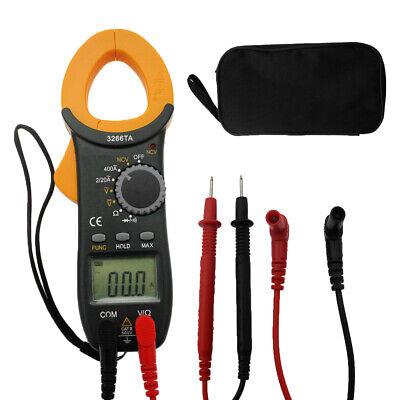 Digital Clamp On Meter Multimeter Ac Dc Voltmeter Auto Range Volt Amp Tester Hot
