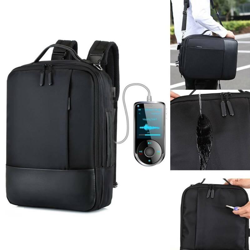 17.3 Laptop Rucksack Wasserdicht AntiDiebstahl USB Extra Groß Business Tasche | Sporttaschen & Rucksäcke