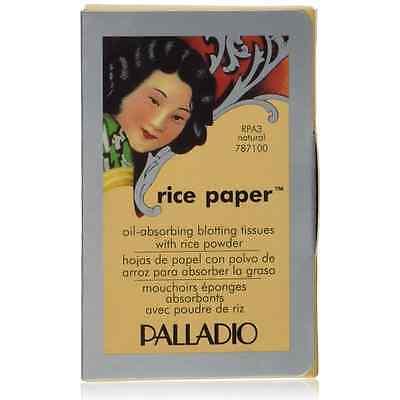 Palladio Rice Paper Natural Blotting Tissues 40 ea