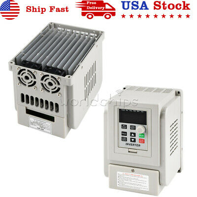 220v Variable Frequency Drive Inverter Vfd 2.2kw 12a 1ph Input 3ph Output
