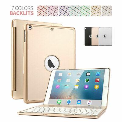 ipad Air Keyboard Case Backlit Bluetooth Keyboard Folio Cover For iPad Air 3/2/1