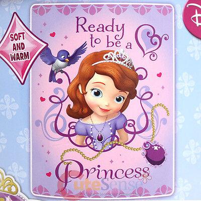 Sofia die Erste Mikrofaser Decke Doppel Rasche Plüsch Wirf Bereit der Prinzessin