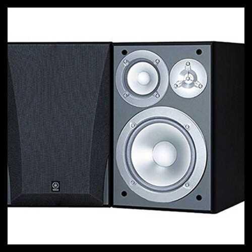 Yamaha NS-6490 3-Way Bookshelf Speakers Finish  Black