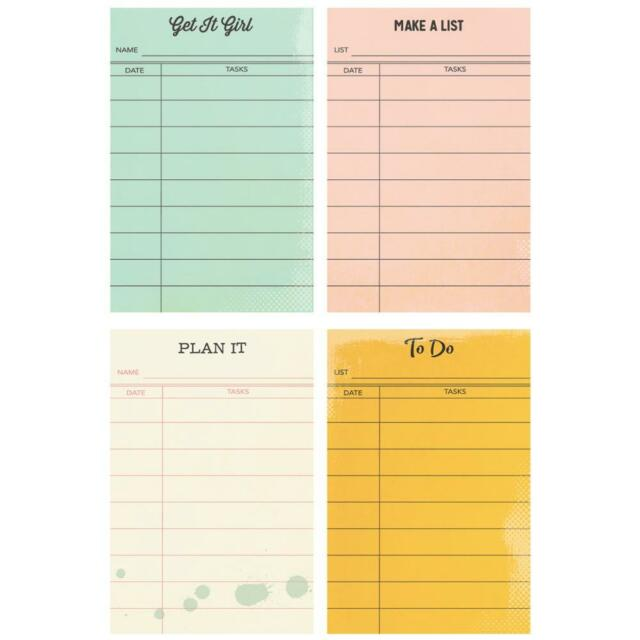 Sticky Notes The Reset Girl Carpe Diem Planner Simple Stories