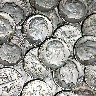 DEAL OF THE SUMMER!!!! - Lot Old US Junk Silver Coins 1/2 Pound LB Pre-1965