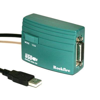 Joystick USB Game Port Adapter RM-203 Gameport USB To 15-P Female MIDI Rockfire