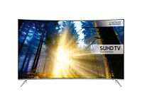 SAMSUNG UE65KS7500 SMART SUHD 4K PREMUIM LED CURVED 2200PQI QUANTUM DOT DISPLAY