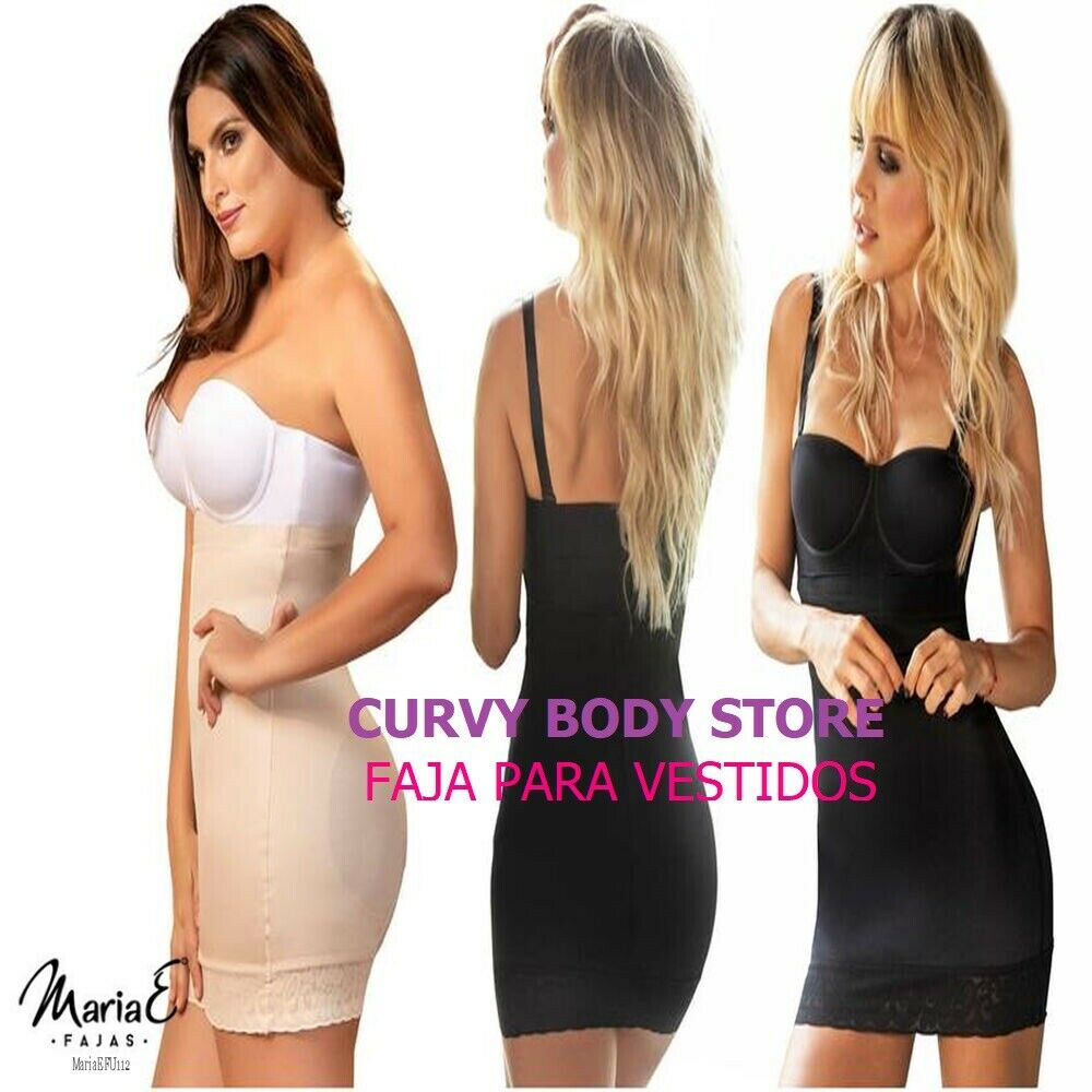 Details About Girdle Strapless Wsilicone For Dress Me Fu112 Shapewear Fajas De Mujer