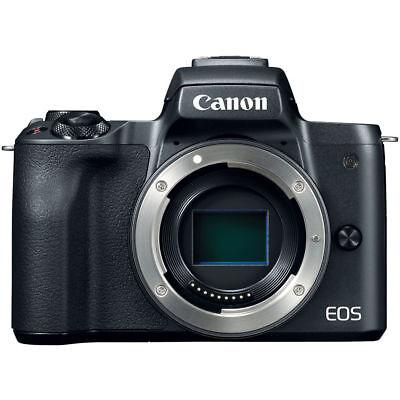 Canon EOS M50 Mirrorless Digital Camera Body Black PX