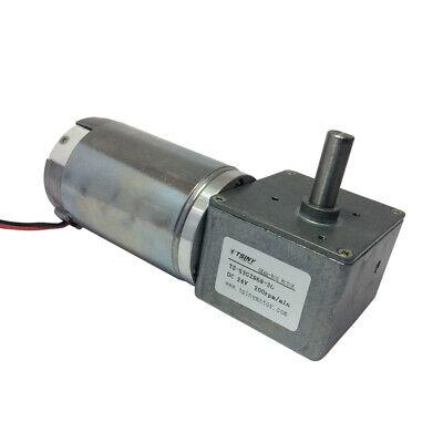 Dc 12v100rpm 24v 200rpm Worm Reducer Geared Motor High Torque Electric Motor
