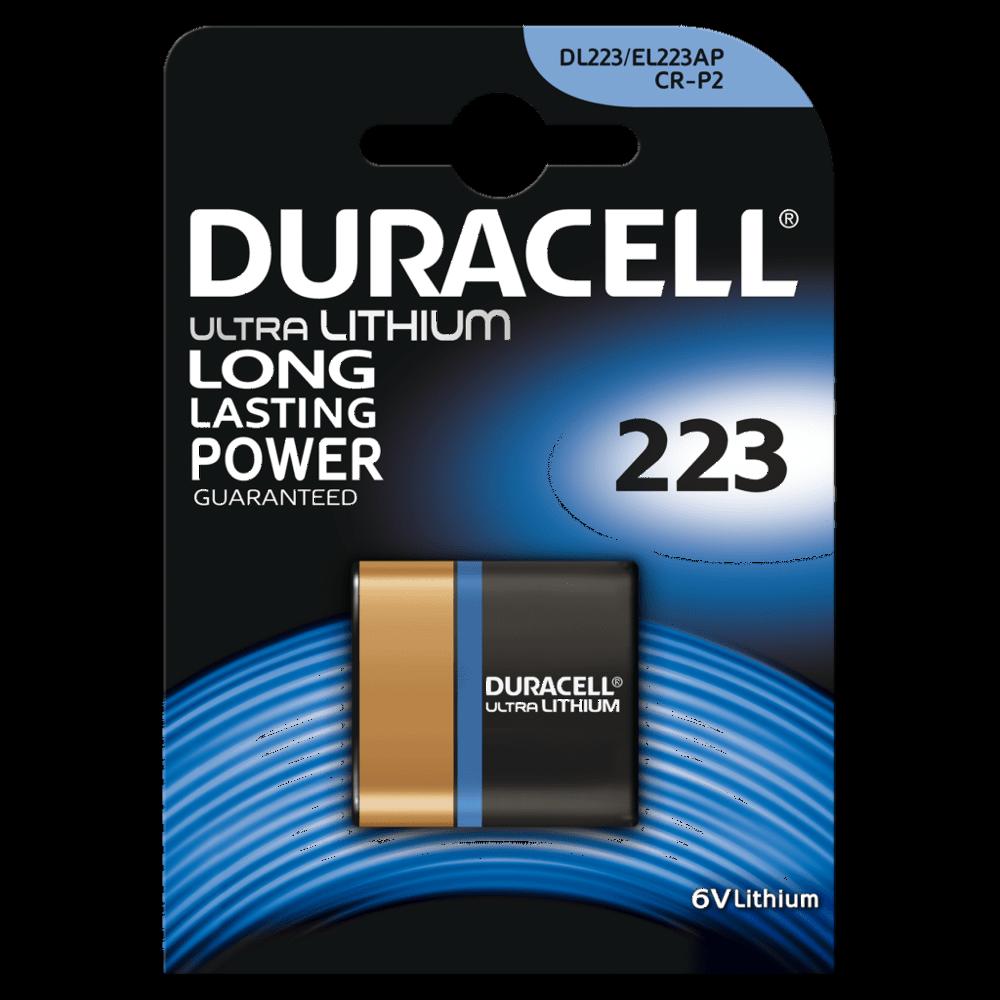 Durac CR-P2 Foto Photo Lithium Batterie Professional 6V 1450mAh 6204 MHD 12-2028
