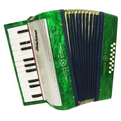 Russian Piano Accordion Malysh, 14 Bass, For Beginner and Children, Case, 1135