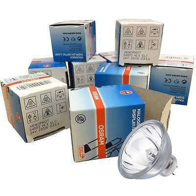 10 x Osram A1/259 Halogen Lamp with Reflector MR16 64653 HLX ELC GX5.3 24v 250w