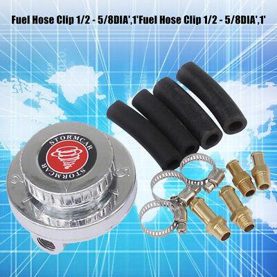 Universal Adjustable Gunmetal Fuel Pressure Regulator For Carburetor Engine